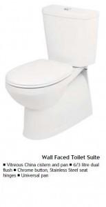 Bathroom fittings bathoom toilet fixture china-toilet suite pan wellington