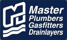 Master plumbers logo gas fitting khandallah wellington