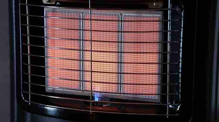 Lpg cabinet heater faults
