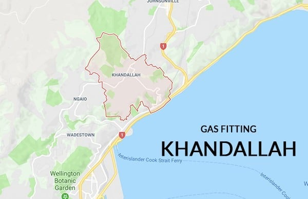 Gas fitting khandallah wellington southern plumbing