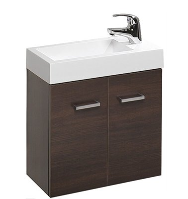 Clearlite Mimas 500mm Wall-Hung Hand Basin and Vanity