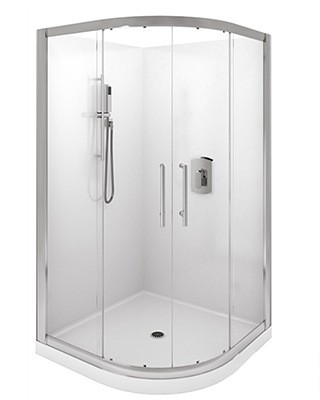 Levivi 900MM Round Shower Enclosure