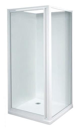 White 900 x 900mm shower enclosure