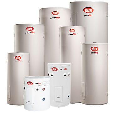 Dux proflo external hot water cylinders wellington