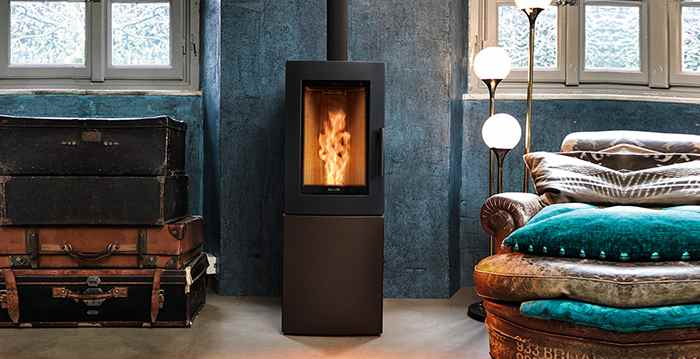 Types of home heating systems - wood pellet burners