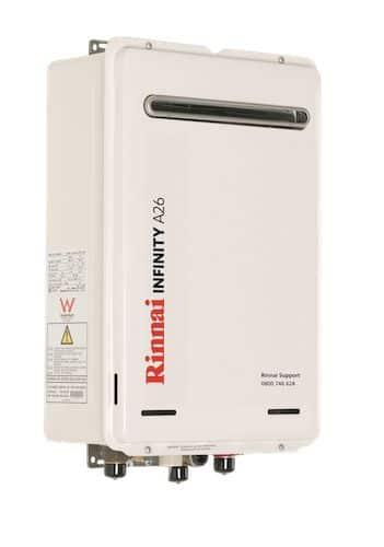 Rinnai infinity a-series wellington southern plumbing