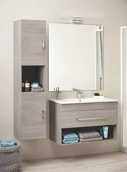 Small Bathroom Renovation - Replace vanity Wellington