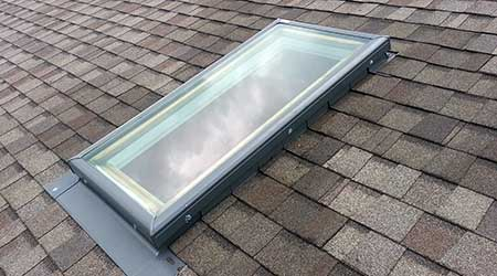 Roof leaking specialists in wellington - improperly installed skylights