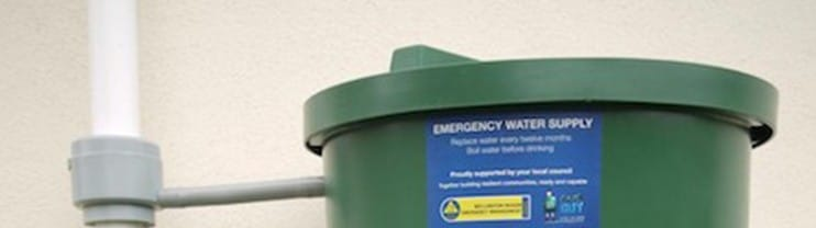 Emergency 200L Water Tank Special Deal Wellington