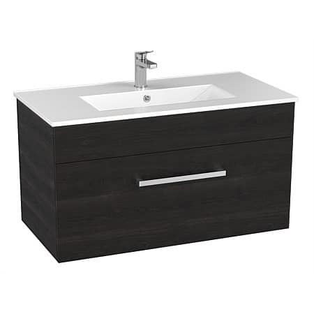 Basin Wellington York Wall Vanity Charcoal