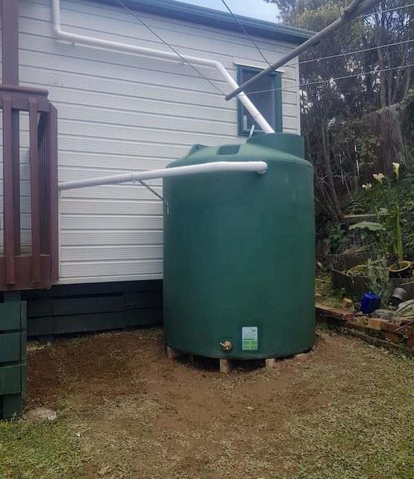 1000 litres emergency water tank Wellington NZ