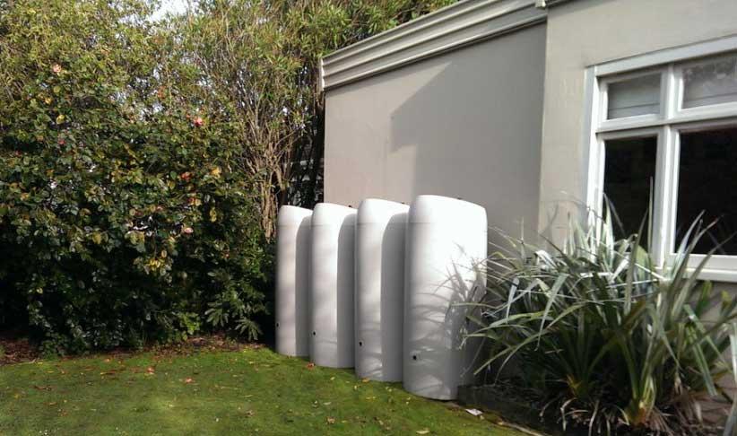 800 Litre Water emergency tank Wellington