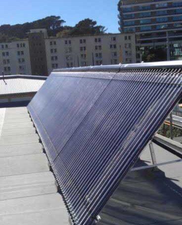 Solar array in newtown wellington